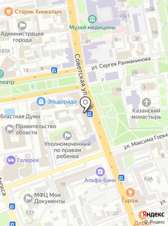 Тамбовский центр стратегических разработок на карте
