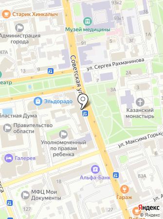 Тамбовский областной институт повышения квалификации работников образования на карте