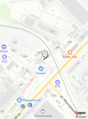 Азимут-Эксперт на карте