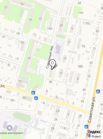 Магазин люстр и обоев на карте