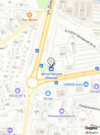 Автостанция №1 на карте