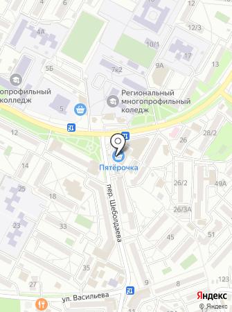 Николаевские полуфабрикаты на карте