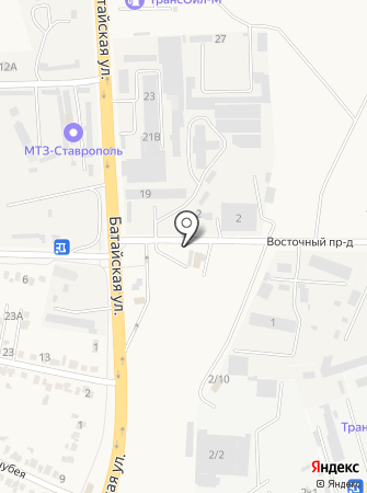 Грузолёв на карте