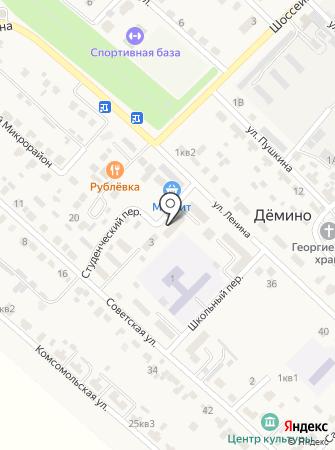 Деминская врачебная амбулатория на карте