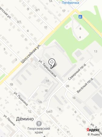 АЛНА-С на карте