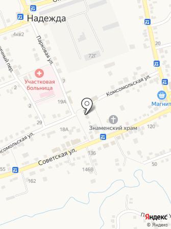 Администрация Надеждинского сельсовета на карте