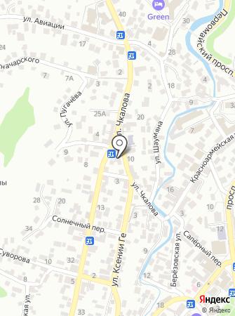 Кисловодский комплексный центр социального обслуживания населения на карте