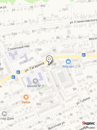 mService на карте