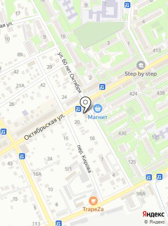 Доступ на карте