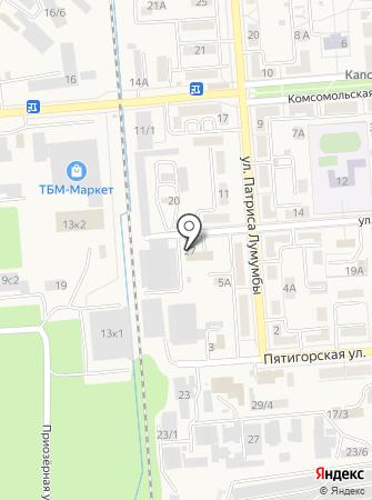 Отделение ГИБДД на карте