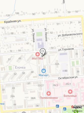 Отдел Пенсионного фонда РФ по г. Лермонтову Ставропольского края на карте