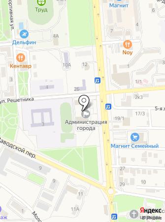 Правовой отдел на карте