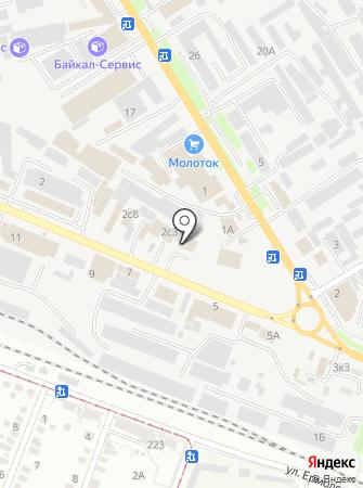 LEADA на карте
