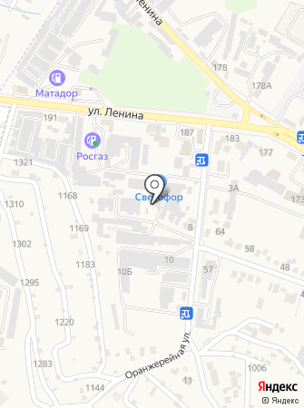 Управление городского хозяйства на карте