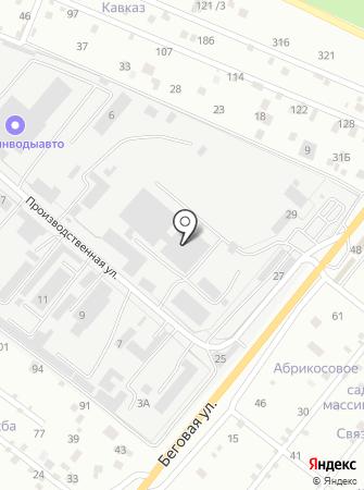 Лиссант-КМВ на карте
