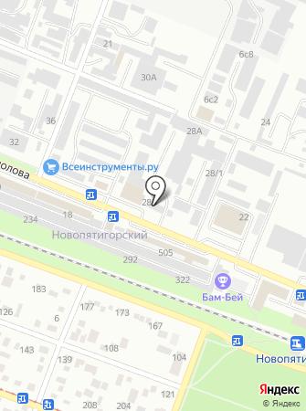Кама-Юг на карте