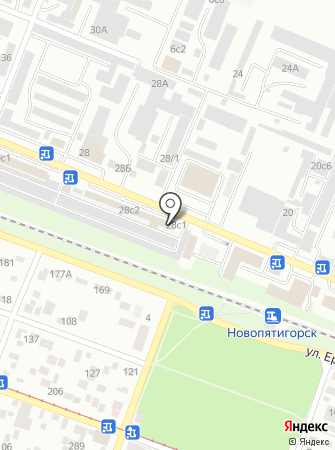 Автомаг-КМВ на карте