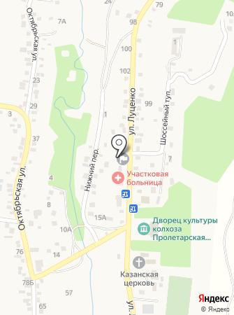 Пролетарская Воля на карте