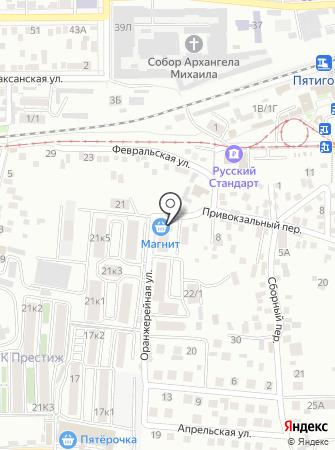 Модное место на карте