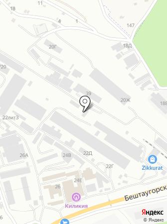 КМВ-Цемент на карте