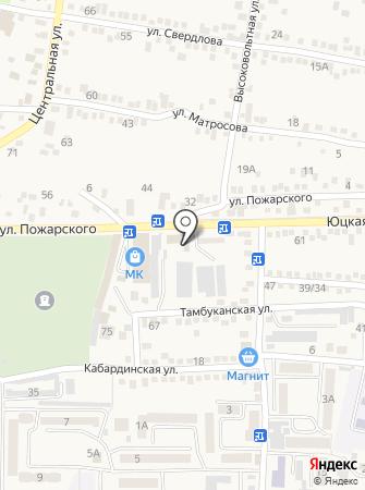 Мебель Белорусская на карте