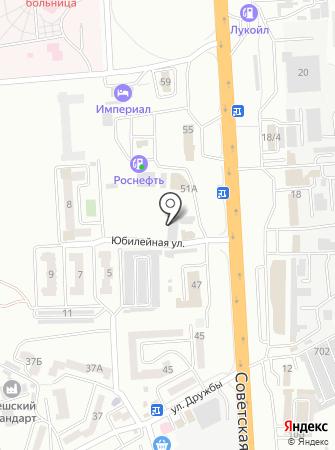 Vip-Driver на карте
