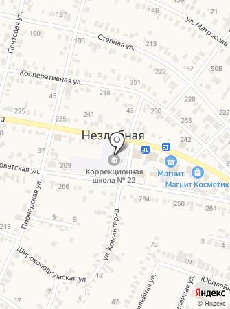 Специальная (коррекционная) общеобразовательная школа №22 на карте