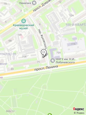 Оперативно-диспетчерская служба ЖКХ на карте