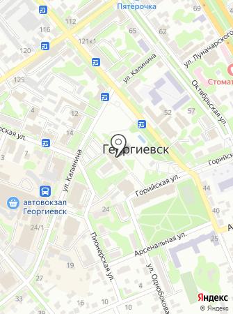 Контрольно-счетная палата Георгиевского муниципального района на карте