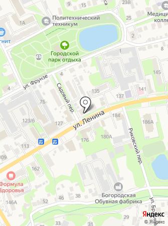 Богородская газета на карте
