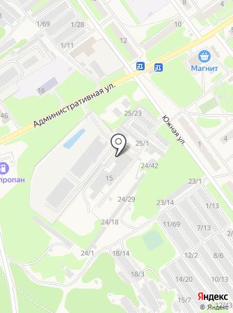 Чернораменское машиностроительное предприятие на карте