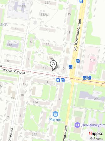 Салон для животных на карте