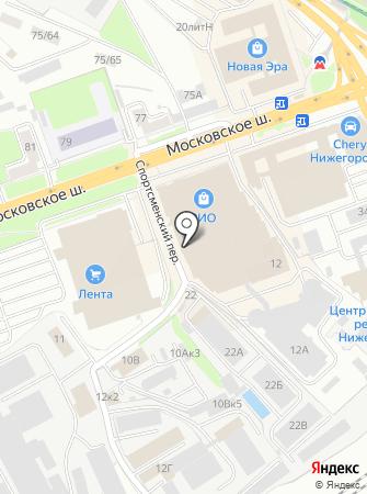 ДЭФО-Нижний Новгород на карте