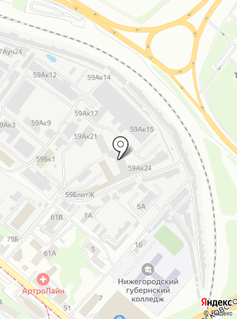 ТОТАЛ М на карте