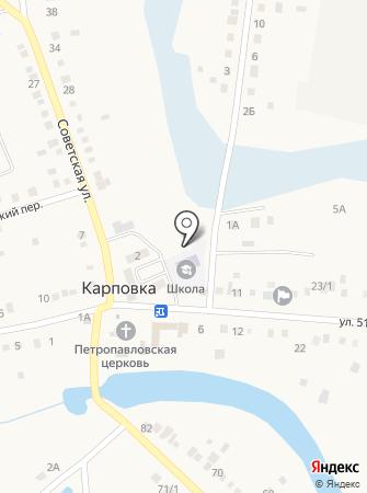 Почтовое отделение №22 на карте