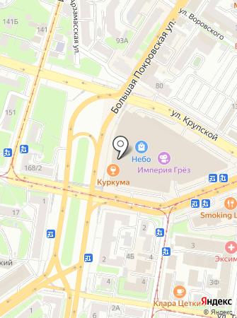 Чайбург на карте