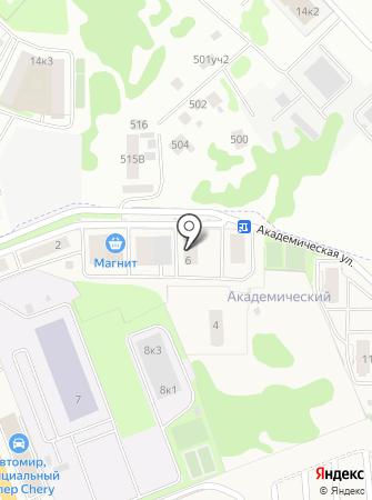 Игла на карте