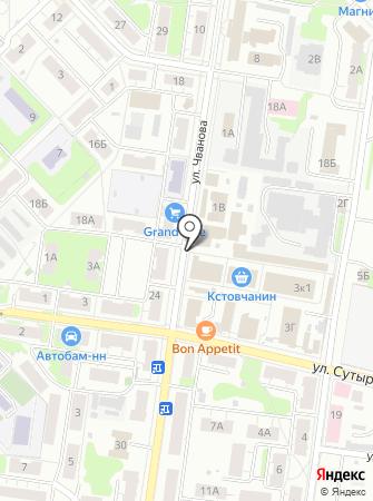 Полимерснаб на карте