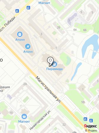 Литера на карте