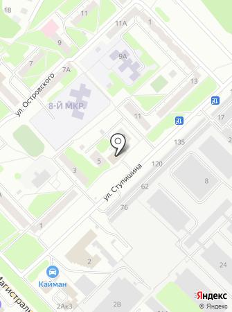 Бирса на карте