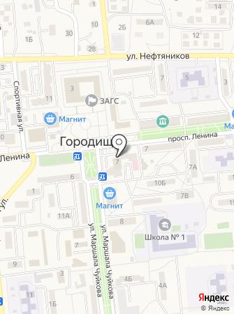 Детская поликлиника №5 на карте
