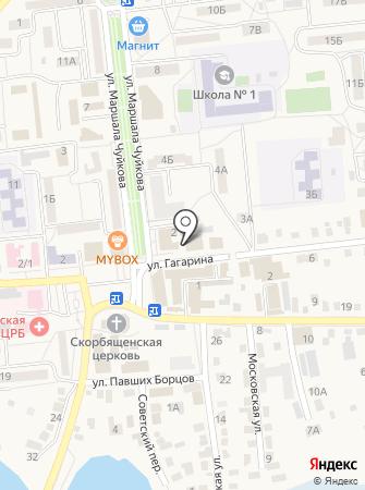Отдел МВД России по Городищенскому району на карте