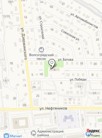 Отдел службы судебных приставов по р.п. Городище на карте