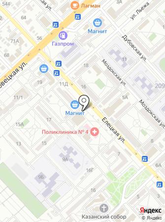 Магазин парфюмерии и косметики на карте