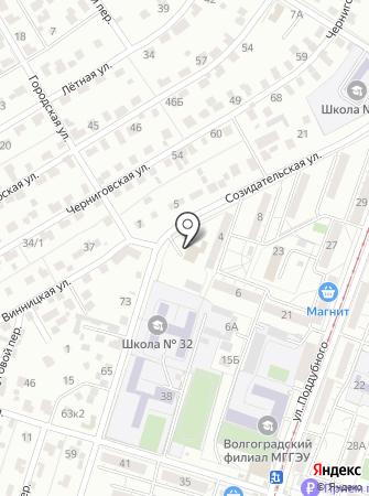 Пожарная часть №2 Краснооктябрьского района на карте