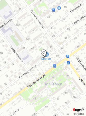Магазин детских игрушек на карте