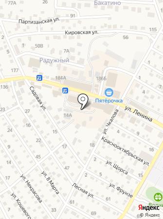 Магазин крепежных изделий и электроинструмента на карте