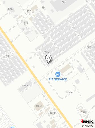 СТО Dors на карте