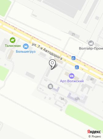 Комтэк на карте