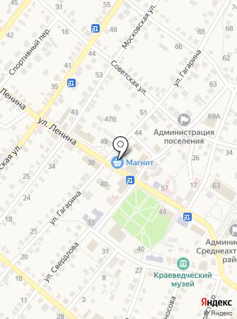 Магазин посуды и сувениров на карте